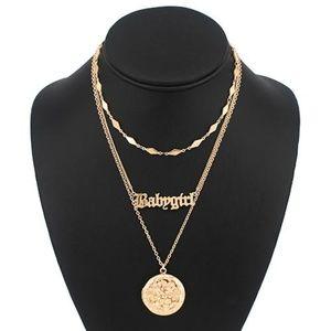 Jewelry - Babygirl  necklace SET (BOGO FREE)